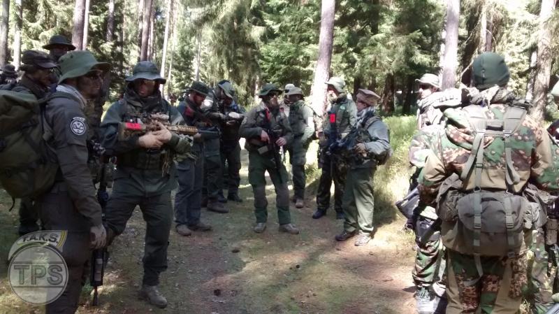 Image of Borderwar participants